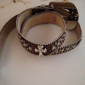 Leather Belt Size Large/X-Large